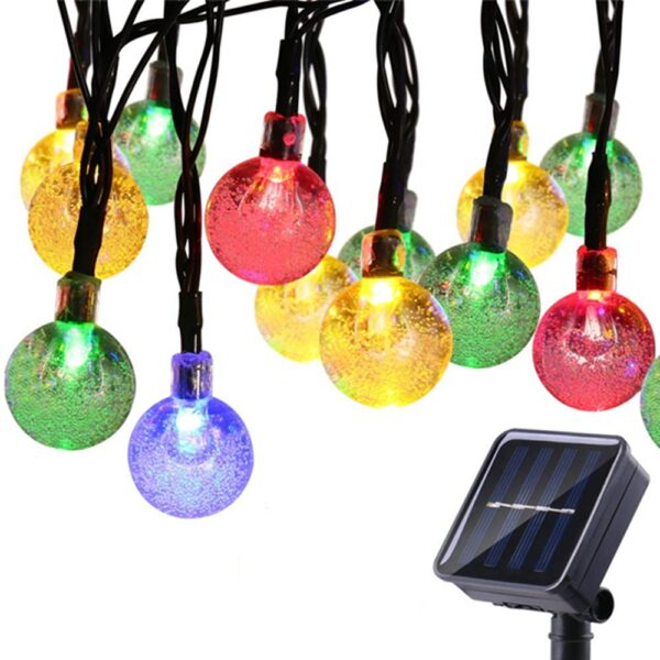 These LED lights decorate your garden with energy from the solar and do not require additional cost. Romantic lighting effects illuminates during night which adds a perfect atmosphere to your place, ideal for decorating your gardens, patio, lawn, porch, gate, yard, etc.