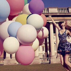 These giant latex balloons not only can light the atmosphere of your party, but also can be applied as photography background and props for you to take beautiful selfies with your family and friends.