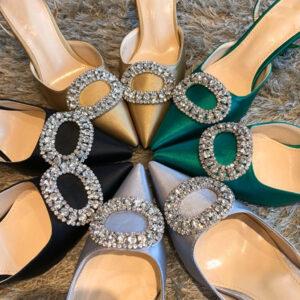 Stiletto Pointed Bride High Heel