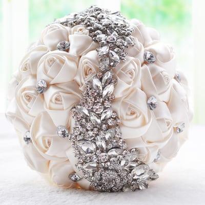 Silk Bouquet Bride