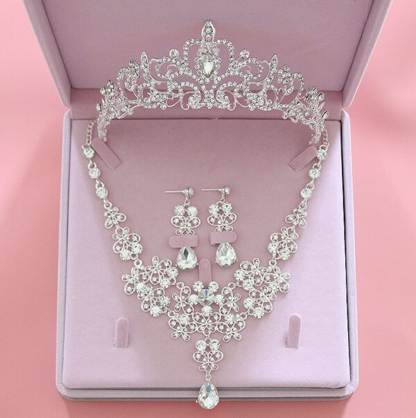 Bridal Crystal Wedding Jewelry Set